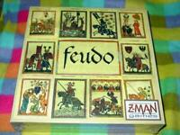 Z-Man Games : FEUDO game - 1265 AD England & Battle for the Throne (SEALED)