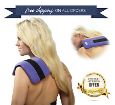 Relief Wrap Neck Pad Hot&Cold Therapy Ice Pack Shoulder Compress Reusable