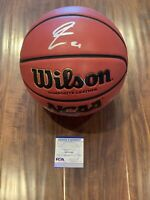 Rui Hachimura Autographed Ball (Wilson NCAA) Washington Wizards PSA COA