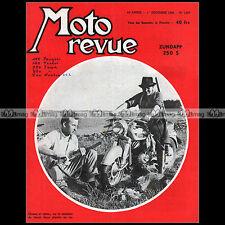 MOTO REVUE N°1317-c ZUNDAPP 250 S PUCH 125 & 175 EARL'S COURT JAWA 250 350 1956