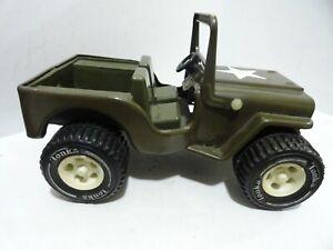 @@ TONKA Army Jeep G-452-8 with STAR LOGO-FOLD DOWN FRONT WINDOW & HITCH @@