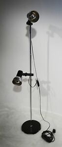 Kultige Stehlampe 2x Strahler im Studio Design 70er