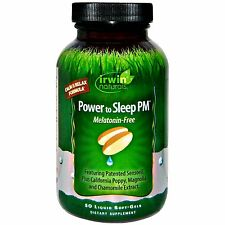 Irwin Naturals - Power to Sleep PM Melatonin-Free Calm & Relax Formula 50 Gels