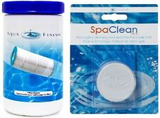 Aquafinesse x20 Filter Cleaner Tablets & Pipe Pump Puck for Spa & Hot Tubs