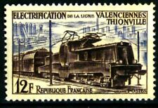 France 1955 Electrification Vamenciennes-Thionville Yvert n° 1024 neuf ** MNH