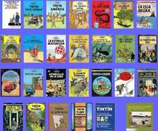 Collection of Tintin Adventures PDF In ENGLISH all 24 books Digital