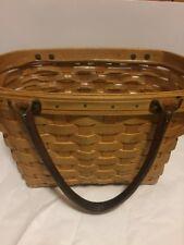 2001 Longaberger*Medium Gos Boardwalk Basket Purse