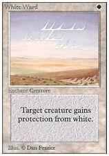 x1 White Ward UNLIMITED 1993 VO ENGLISH Magic MTG ~ EX