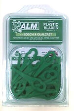 ALM QT028 LAWNMOWER/TRIMMER PLASTIC BLADES FOR BOSCH/QUALCAST MODELS BELOW