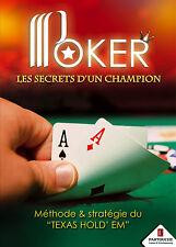 20128 // DVD POKER LES SECRETS D'UN CHAMPION TEXAS HOLD'EM NEUF