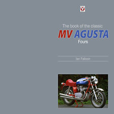 MV Agusta Fours Author signed book 600 750 S America 850 SS Monza brand new