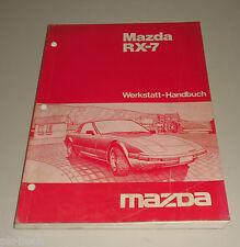 Werkstatthandbuch Mazda RX-7 Typ FC3S Stand 03/1984 Grundhandbuch