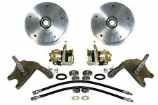 "2 1/2"" DROP SPINDLE 5/205 FRONT DISC BRAKE KIT FOR LINK PIN"