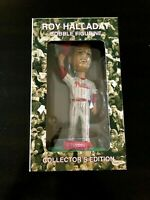 Roy Halladay Bobble Head Phillies Figurine New In Original Box Toyota 7""