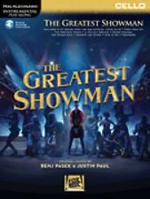 The Greatest Showman Instrumental Play-Along Series for Cello New 000277398