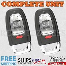 2 Keyless Entry Remote For 2009 2010 2011 2012 2013 2014 Audi TT Quattro Key Fob