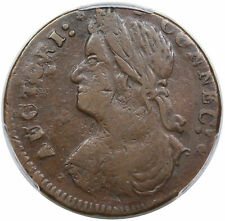 1787 Connecticut Copper, ET LIR, scarce Miller 33.17-gg.2, R5, PCGS XF40
