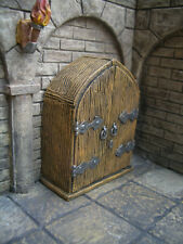 Oak Armoire Thomarillion Unpainted Terrain D&D Dwarven Forge