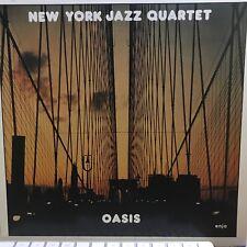 New York JAZZ QUARTET – Oasis album W.Germany Import 1981 JAZZ LP Vinyl Record