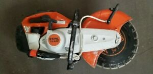 """DOES NOT START - Stihl TS420 Cut Off Saw with 16"""" Guard and Blade"""