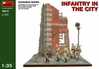 Miniart 1:35 Infantry In The City Diorama Model Kit