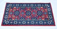 Vintage Persian Rug/Carpet Pure Wool 108cm X 60cm