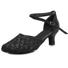 Women's Girl's lady's Ballroom Latin Tango Dance Shoes heeled Salsa Dancing shoe