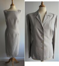 WINDSMOOR 100% Silk Dress Jacket Mother of the Bride Sequined Embroidered UK 14