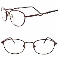 Old School Vintage Retro Mens Womens Rectangle Brown Frame Clear Lens Glasses