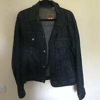 GAP 1969 Mens Dark Wash Denim Jacket, Size Medium, Amazing Vintage Condition