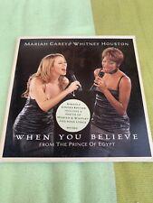 Mariah Carey When You Believe Single Cardboard