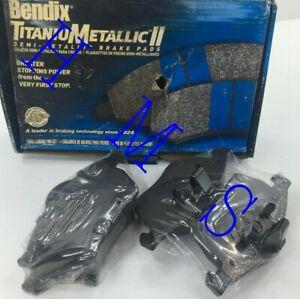 BENDIX MKD800IQ FRONT DISC BRAKE PADS SEMI-METALLIC FITS SAAD 9-3 9-5 900 SATURN