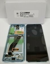 Samsung galaxy S20 Blue LCD Screen Touch Screen Digitizer + Frame G980 OEM New