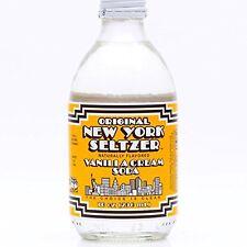 Original New York Seltzer Vanilla Cream Soda, 10-Ounce Glass Bottles (Pack of...