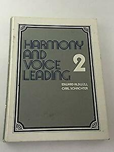 Harmony and Voice Leading Hardcover Carl Schachter Edward Aldwell