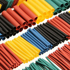 520Pcs 2:1 Heat Shrink Tubing Tube Sleeving Wrap Cable Wire 5 Color 10 Size FI
