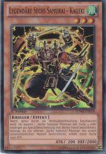 YU-GI-OH Legendäre Sechs Samurai Kageki Super Rare SDWA-DE018