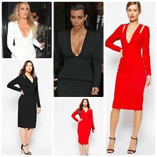 ASOS Long Sleeve Casual Dresses Midi