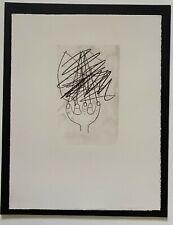 """Pablo Picasso """" La Gout Du Bonheur""""  Original Lithograph in Arches Rag Paper"""