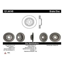Centric Parts 121.44149 Rear Disc Brake Rotor