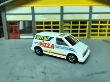 "1/64 Hot Wheels ""Speedie Pizza"" Ford Aerostar Van/Basic Wheels"