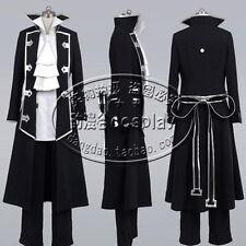 Pandora Hearts Gilbert Nightray (Raven) Uniform Cosplay Costume Any Size