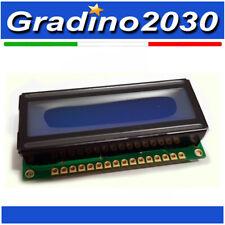 Display Bolymin QC OK 8x1 Retroilluminazione BLU BC0801 Arduino Raspberry PIC
