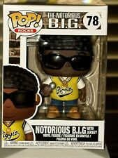 Funko Pop! Rocks The Notorious B.I.G. with Jersey Vinyl Collectible Figure #78