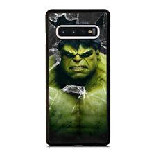 INCREDIBLE HULK CRACKS GLASS Samsung S7 S8 S9 S10 5G S10e Edge Plus Case