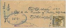 POSTAL HISTORY   -  MALTA 2 d. stamp with FISCAL USE 1958 - very nice!