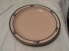 Brickoven Stoneware Scandia Blue Dinner Plate Oven To Table Minimal Use