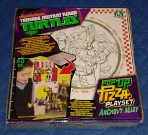2013 *** ANCHOVY ALLEY POP UP PIZZA PLAYSET MISB ** TEENAGE MUTANT NINJA TURTLES