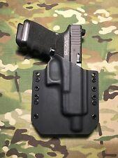 Black Kydex Holster for Glock 19 GEN5 Threaded Barrel