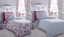 Glamping Floral Camper Van Single Bedding & Pillowcase Duvet Cover Set